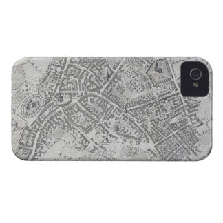 Plan of Birmingham, 1731, published 1789 (engravin iPhone 4 Covers