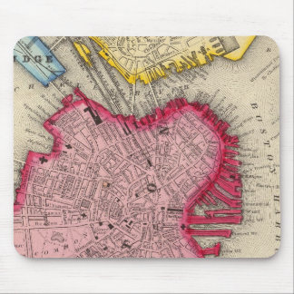 Plan Of Boston Mouse Pad