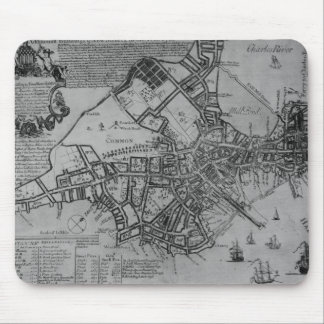 Plan of Boston, New England, 1739 Mouse Pad