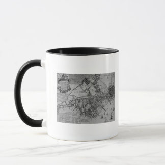 Plan of Boston, New England, 1739 Mug