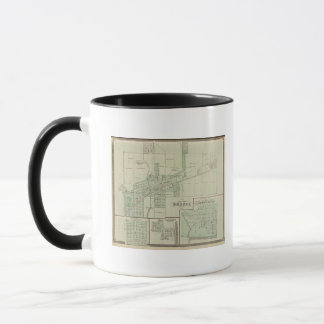 Plan of Brazil, Clay Co with Bowling Green Mug