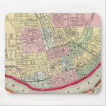 Plan Of Cincinnati And Vicinity Mouse Pad