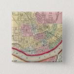 Plan Of Cincinnati And Vicinity Pinback Button