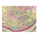 Plan Of Cincinnati And Vicinity Post Cards
