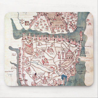Plan of Constantinople Mouse Pad