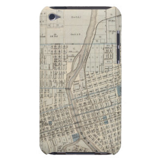 Plan of Des Moines, Polk County, Iowa Barely There iPod Cases