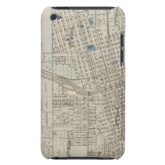 Plan of Des Moines, Polk County, Iowa iPod Touch Covers
