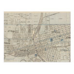 Plan of Des Moines, Polk County, Iowa Post Cards