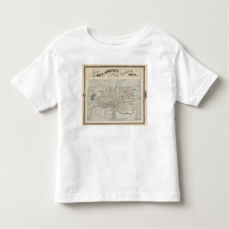 Plan of Des Moines, Polk County, Iowa Toddler T-shirt