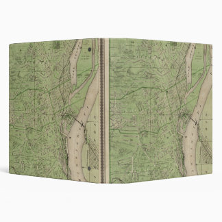 Plan of Dubuque, Dubuque County, State of Iowa 3 Ring Binder