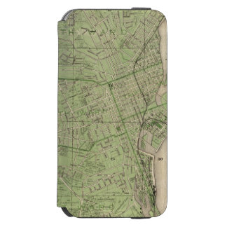 Plan of Dubuque, Dubuque County, State of Iowa iPhone 6/6s Wallet Case