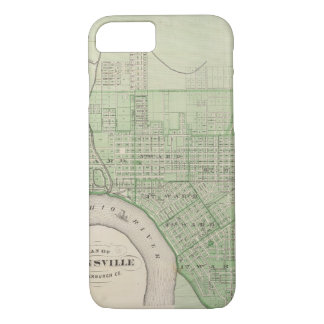 Plan of Evansville, Vanderburgh Co iPhone 8/7 Case