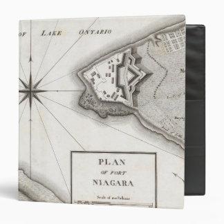 Plan of Fort Niagara Binder