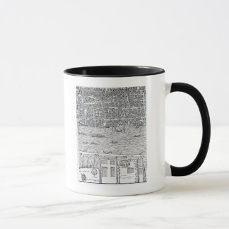 Plan of London, c.1560-70 Mug