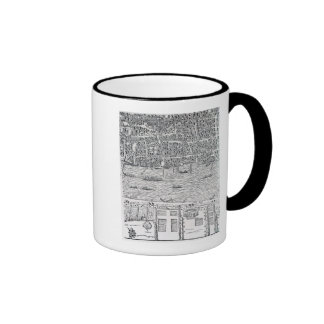 Plan of London, c.1560-70 Ringer Mug