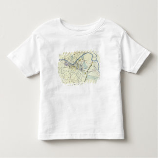 Plan of Lucknow showing Operations Toddler T-shirt