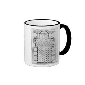 Plan of Milan Cathedral Coffee Mug