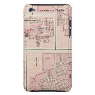 Plan of Mount Vernon, Posey County with Patoka iPod Touch Case