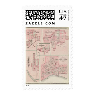 Plan of Mount Vernon, Posey County with Patoka Postage