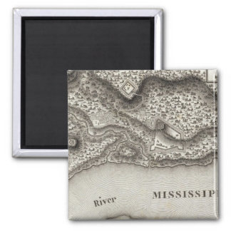 Plan Of Nogales 2 Inch Square Magnet
