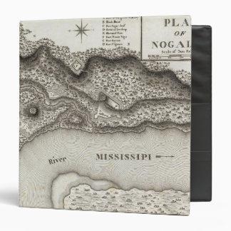 Plan Of Nogales Vinyl Binder
