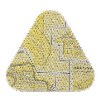 Plan of North Vernon, Jennings Co with Vernon Bluetooth Speaker