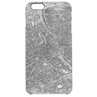 Plan of Paris, known as the 'Plan de Turgot' Clear iPhone 6 Plus Case