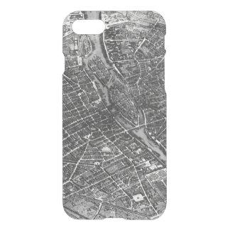 Plan of Paris, known as the 'Plan de Turgot' iPhone 8/7 Case