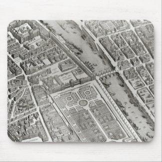 Plan of Paris, known as the 'Plan de Turgot' Mouse Pad