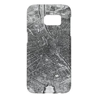 Plan of Paris, known as the 'Plan de Turgot' Samsung Galaxy S7 Case