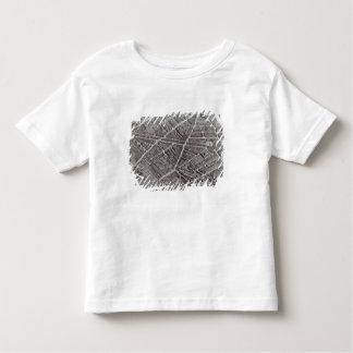 Plan of Paris, known as the 'Plan de Turgot' Toddler T-shirt