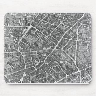 Plan of Paris Mouse Pad