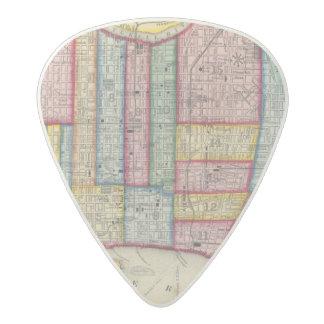 Plan Of Philadelphia Acetal Guitar Pick