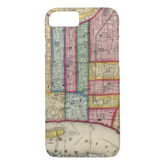 Plan Of Philadelphia iPhone 8/7 Case