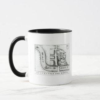 Plan of Rochester Mug