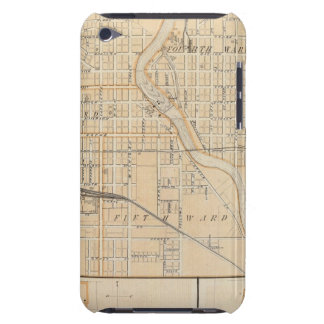 Plan of South Bend with Mishawaka iPod Touch Cases