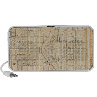 Plan of South Bend with Mishawaka Portable Speaker