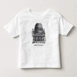 Plan of St. Peter's, Rome, engraved by Toddler T-shirt