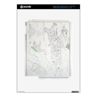 Plan of Sydney with Pyrmont, New South Wales, the iPad 3 Skin