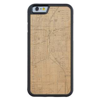 Plan of Terre Haute, Vigo Co Carved Maple iPhone 6 Bumper Case