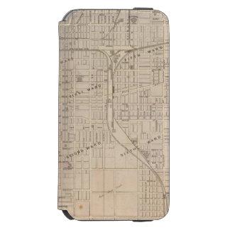 Plan of Terre Haute, Vigo Co iPhone 6/6s Wallet Case