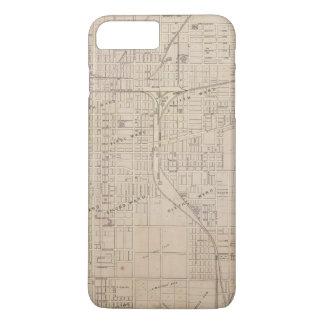 Plan of Terre Haute, Vigo Co iPhone 8 Plus/7 Plus Case