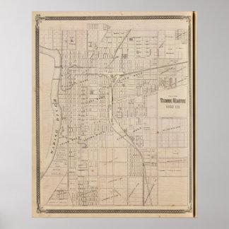 Plan of Terre Haute, Vigo Co Print