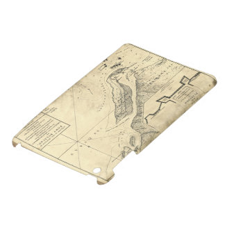 Plan of the Attack Fort Sulivan Map (June 28 1776) iPad Mini Cover