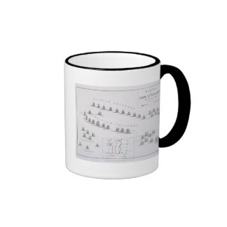 Plan of the Battle of Cape St. Vincent, 14th Febru Coffee Mugs