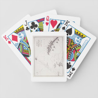 Plan of the Battle of the Nile, 1st August 1798, c Bicycle Card Deck