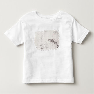 Plan of the Battle of the Nile, 1st August 1798, c Toddler T-shirt