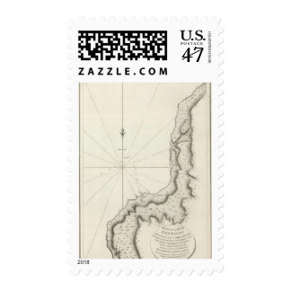 Plan of the Bay Destaing Postage