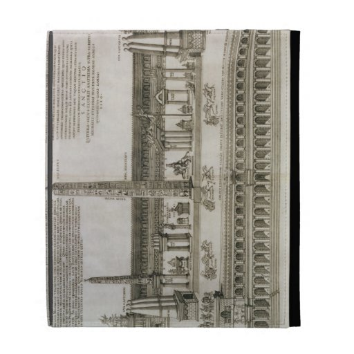 Plan of the Circus Maximus, Rome, engraved by the iPad Folio Cases