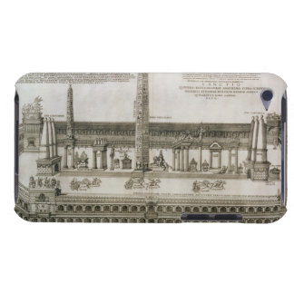 Plan of the Circus Maximus, Rome, engraved by the iPod Touch Case-Mate Case